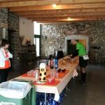Okrepčevalnica v Erzelju v vinski kleti Miška.
