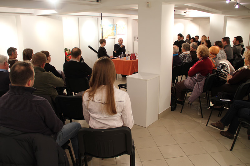 Andrej Stopar na Ruskem večeru