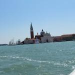 Zibajoče smo opazovali otoček San Giorgio Maggiore.