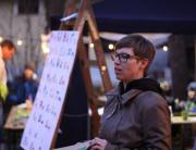 Kandelin ruski kotiček na Božičnem bazarju v Mozirju