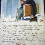 Gasparijeva razglednica za Nika Sadnikarja