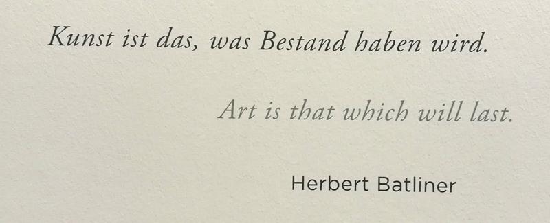 Herbert Batliner @Albertina