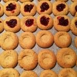 Recept: mandljevi piškoti z marmelado