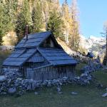 S planine VIševnik se vidi tudi naš očak Triglav